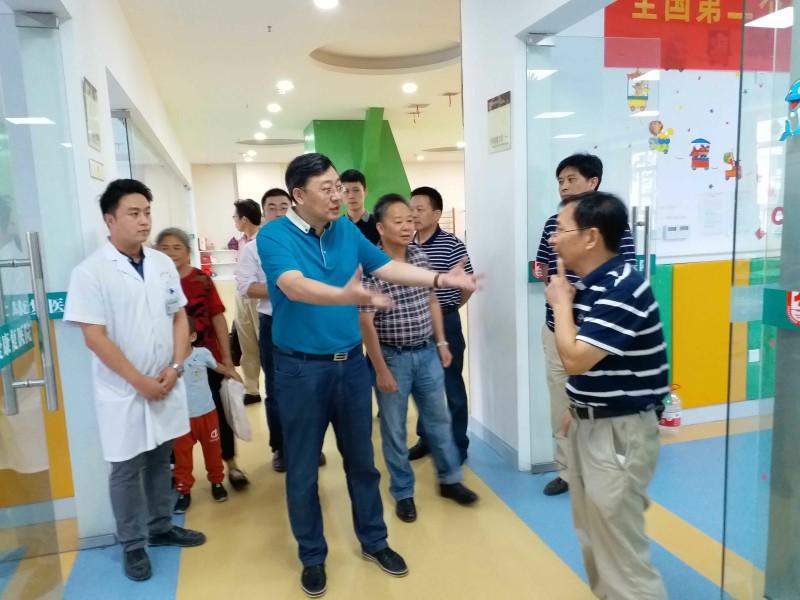龙8苏德辉总经理莅临湘西博爱康复医院调研考察